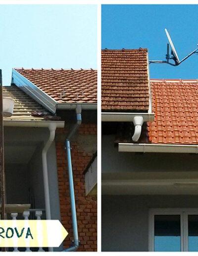 Stolarija Čekić - adaptacija krova
